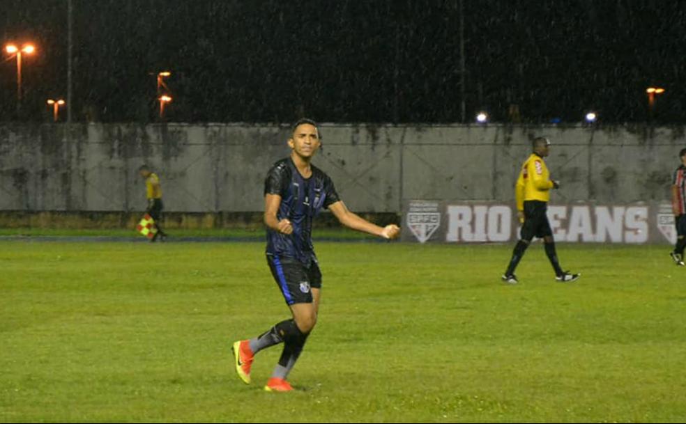 Atacante marcou seis gols pelo Ypiranga-AP — Foto: Rosivaldo Nascimento/Arquivo Pessoal