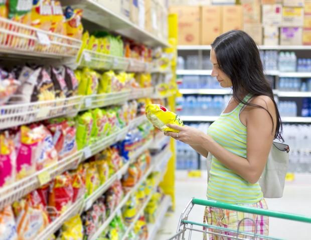 mulher; supermercado (Foto: ThinkStock)