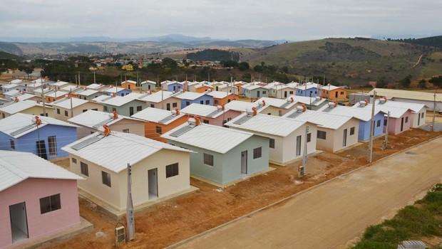 Unidades do programa de habitação Minha Casa Minha Vida (Foto: Divulgação)