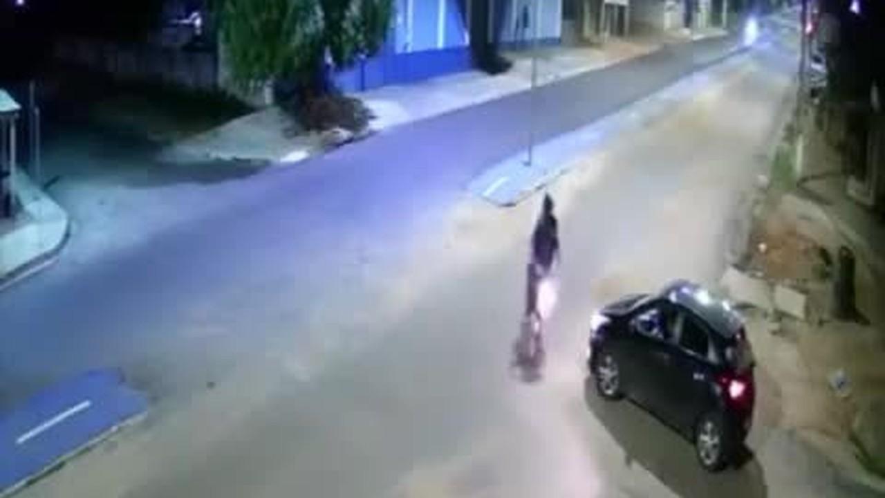 Câmera mostra assassinato de jornalista em Peixoto de Azevedo