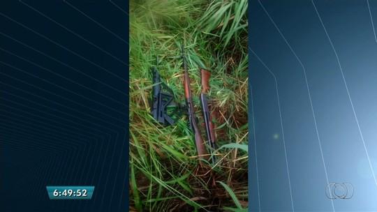 Dupla é presa após passar trote em pelotão da PM-GO para furtar armas
