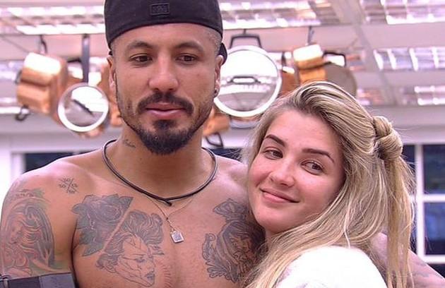 Na 15ª edição do 'BBB', Fernando namorou com Aline (Foto: Reprodução)