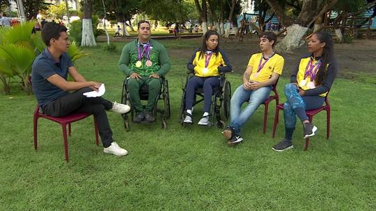 Pernambucanos ajudam Brasil a fazer história nos Jogos Parapan-Americanos