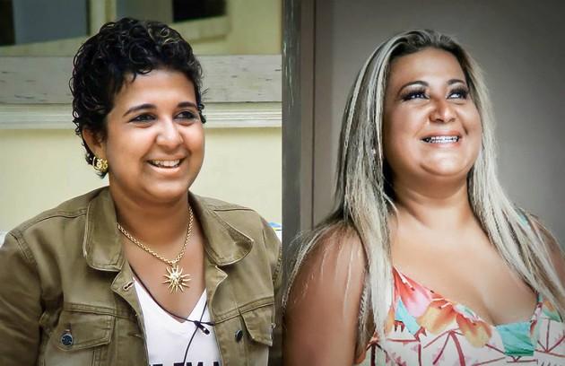 Cida venceu o 'BBB' 4, mas perdeu todo o dinheiro do prêmio. Hoje vive em Itaguaí, no Rio, com o marido e os dois filhos (Foto: Reprodução)
