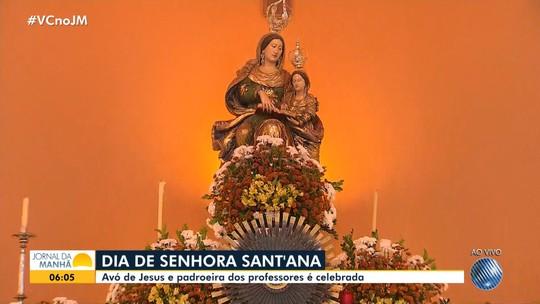 Católicos celebram o dia de Senhora Sant'Ana com programação especial