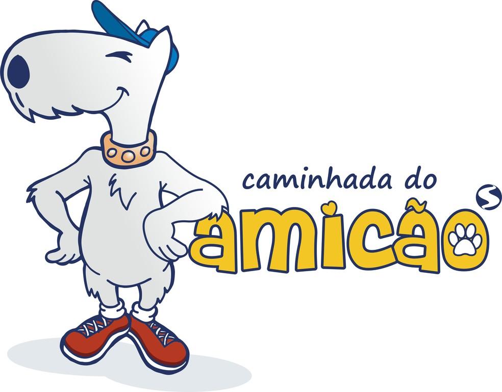 Caminhada do Amicão será neste domingo, em Resende — Foto: Arte/TV Rio Sul