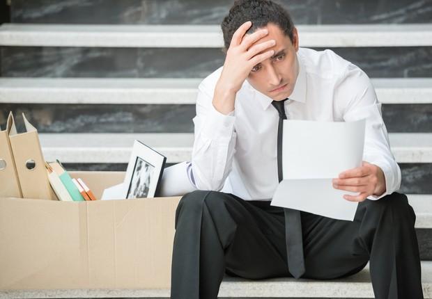 demissao, tristeza, desemprego, demitir, desligar, desempregado (Foto: Thinkstock)