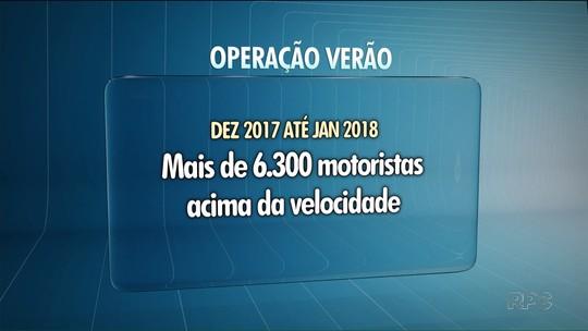 Rodovias do litoral do Paraná registram mais de 250 multas por excesso de velocidade por dia, diz polícia