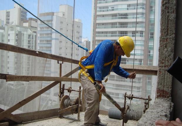 Operário da construção civil ; operário ; Sinduscon ;  (Foto: Divulgação)