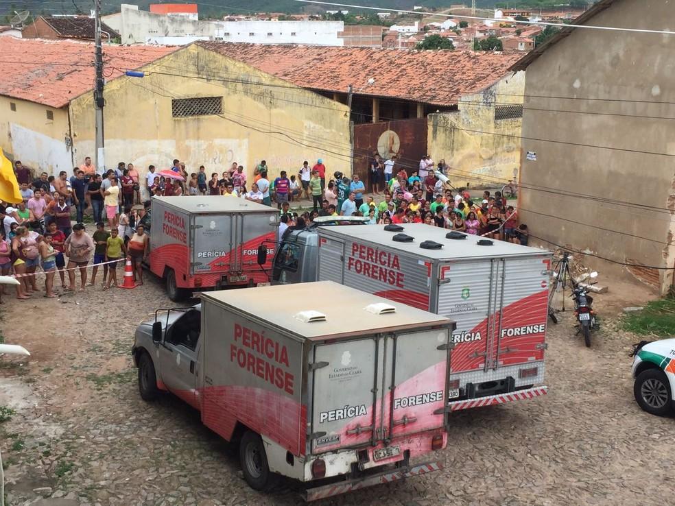 Briga entre facções deixou 10 mortos na Cadeia Pública de Itapajé (Foto: Divulgação)