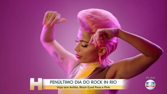 Penúltimo dia de Rock in Rio tem Anitta e Pink