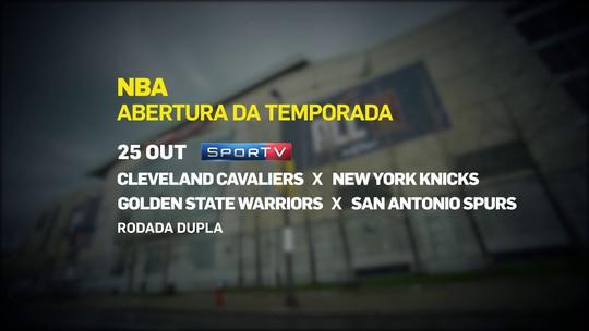 SporTV transmite 82 jogos da temporada regular da NBA. Veja a lista