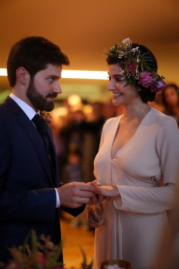 A cerimônia cívil de Lena Mattar e Fabrizio Lenci  (Foto: Ilana Litchtenstein/Liríade e Estúdio Barbarella)