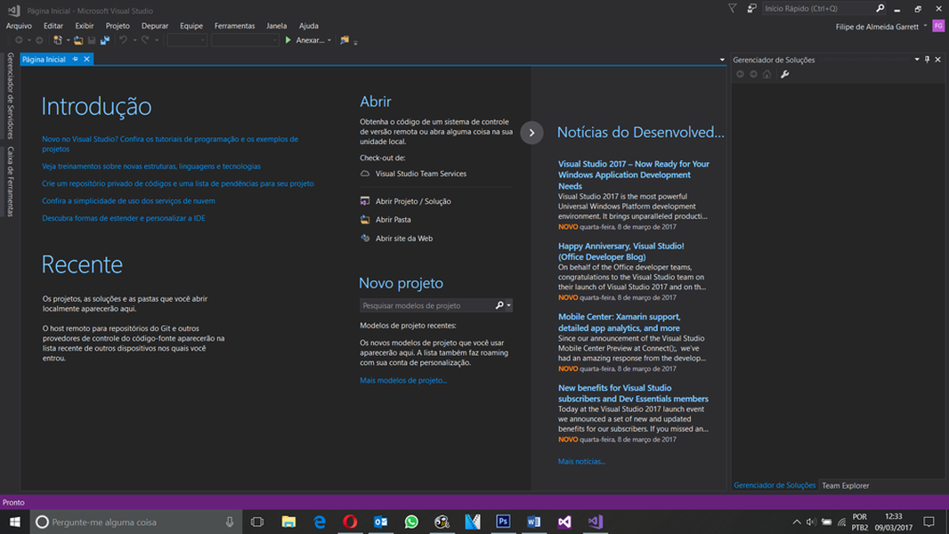 visual studio 2017 download techtudo