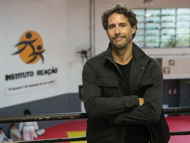 Ex-judoca, Flávio Canto ressalta o poder do esporte em sua vida  (Foto: Divulgação)