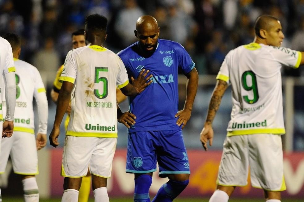 Maicon chegou ao Avaí para a disputa do Brasileirão e disputou apenas dois jogos até aqui (Foto: Fernando Remor/Mafalda Press/Estadão Conteúdo)