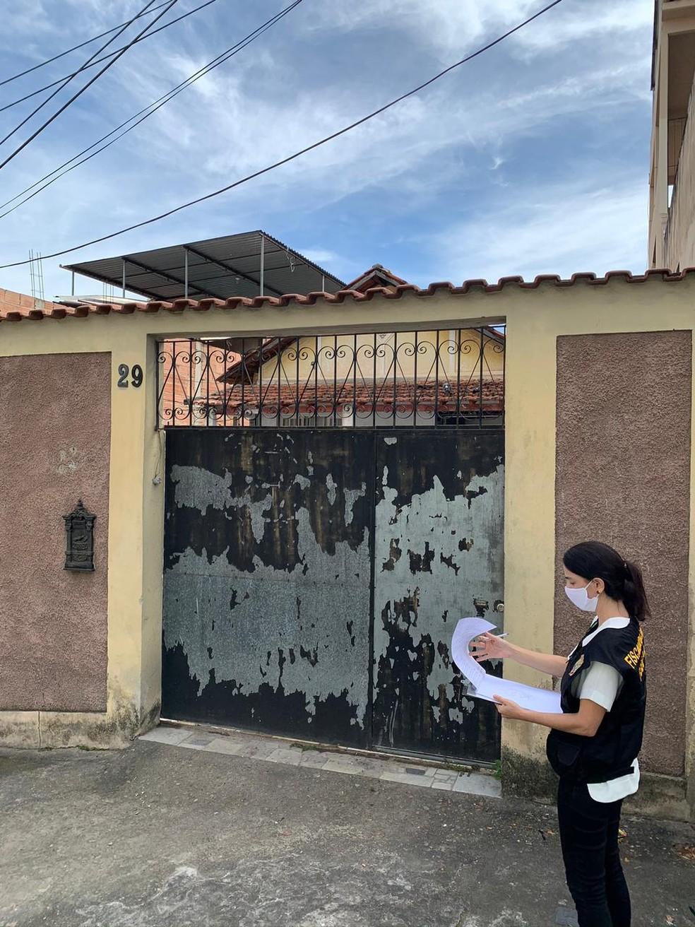 Fiscalização do Trabalho realizou resgate de uma empregada na Abolição, Zona Norte do Rio — Foto: Reprodução/Arquivo Pessoal