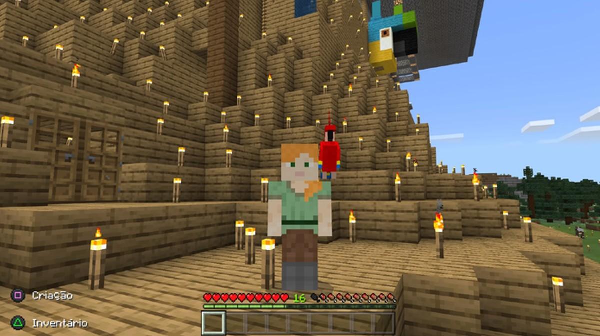 Como domesticar papagaio em Minecraft | Jogos casuais | TechTudo
