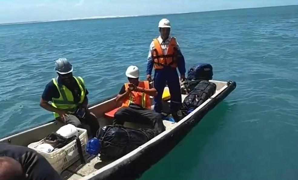 Droga apreendida no litoral cearense seria vendida por 40 mil euros, afirma Polícia Federal — Foto: PF/Divulgação