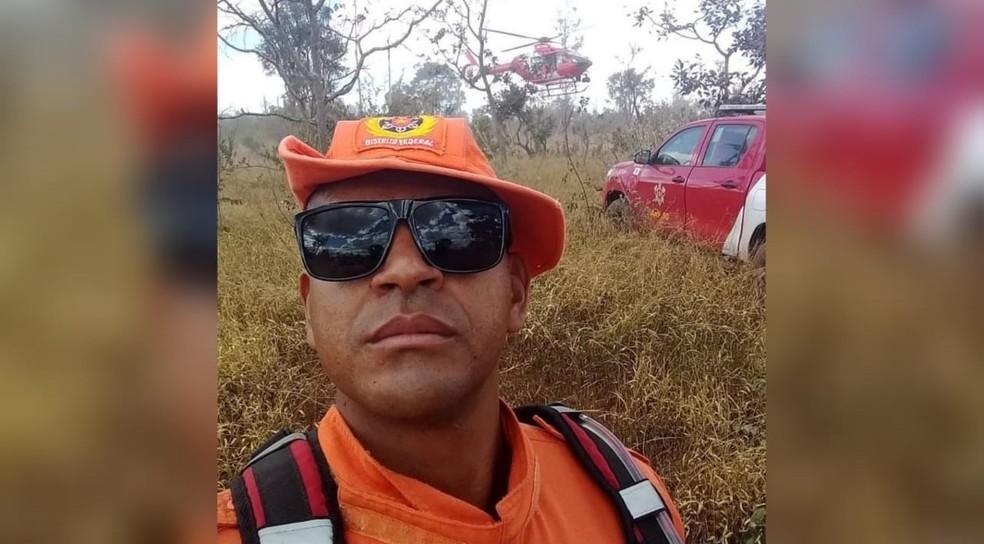 Sargento do Corpo de Bombeiros do Distrito Federal Wesley Ribeiro de Mendonça — Foto: Corpo de Bombeiros/Divulgação