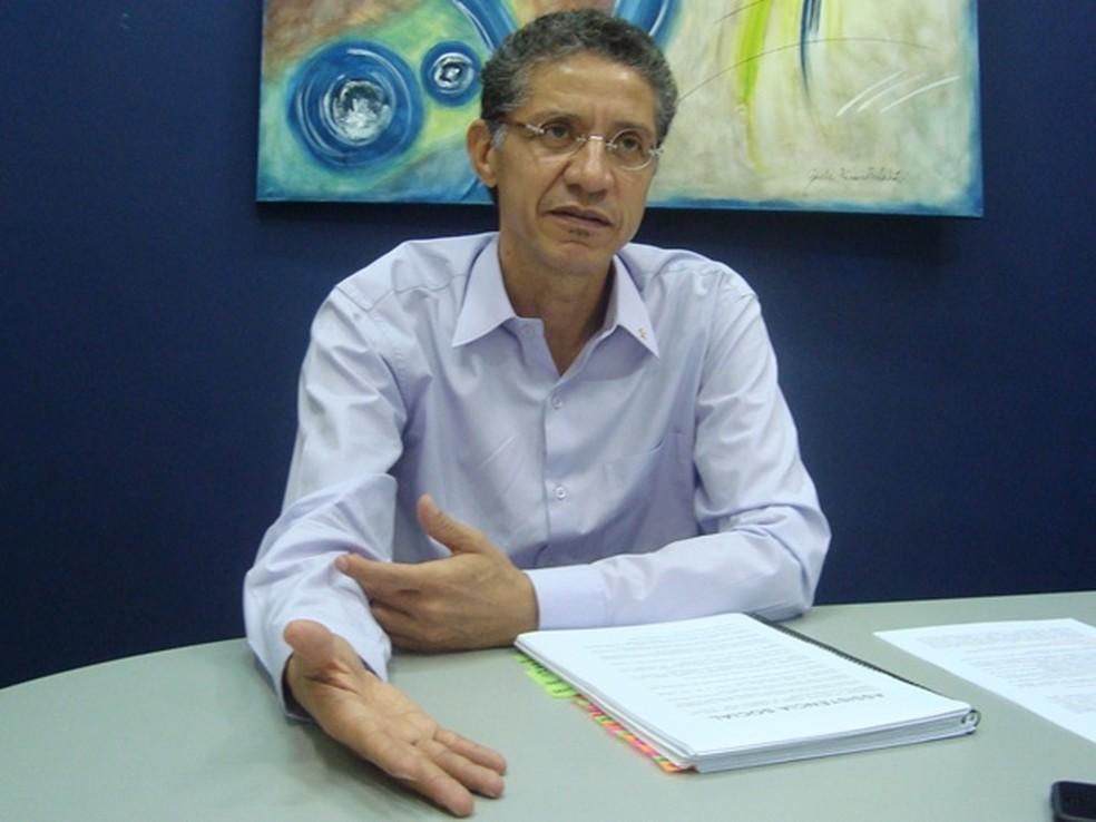 Cido Sério foi prefeito de Araçatuba (Foto: Marcos Lavezo / G1)