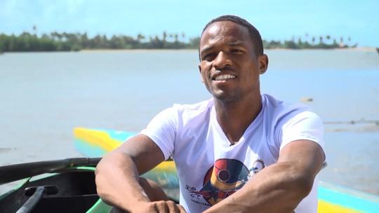 Conheça a história de superação do canoísta Juninho, de Itacaré