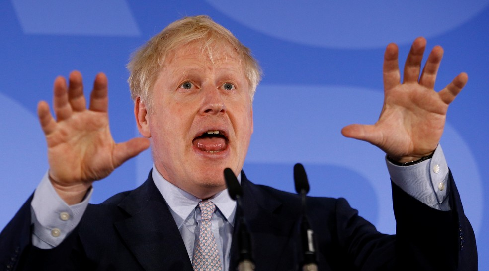 Boris Johnson — Foto: Henry Nicholls / Reuters