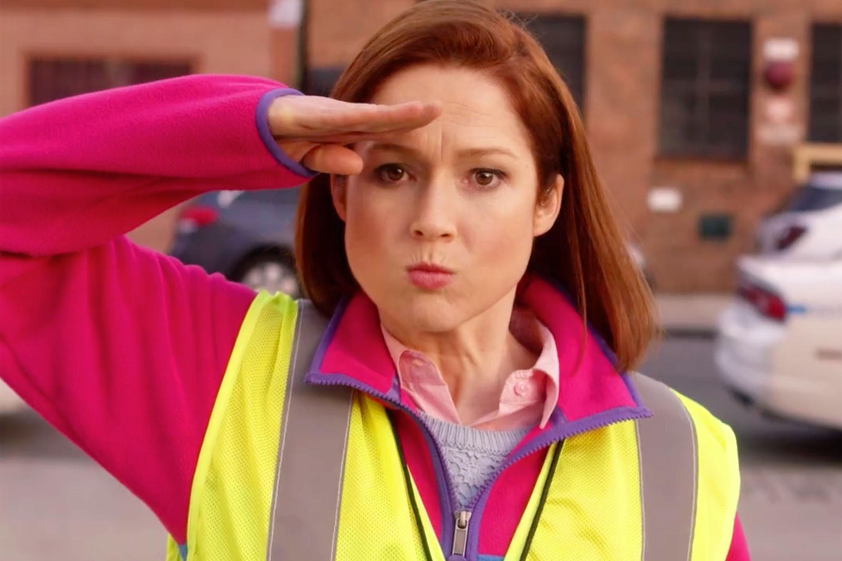 Ellen Kemper como Kimmy Schmitd, que volta para uma quarta temporada (Foto: Divulgação)