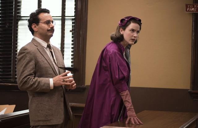 The Marvelous Mrs. Maisel, da Amazon Prime, foi indicado a 14 Emmys, incluindo melhor figurino de época. (Foto: Divulgação)