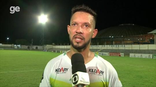"""Campeão da Série B com o Picos, Raphael Freitas cita apelo para bater pênalti: """"Não podia fugir"""""""