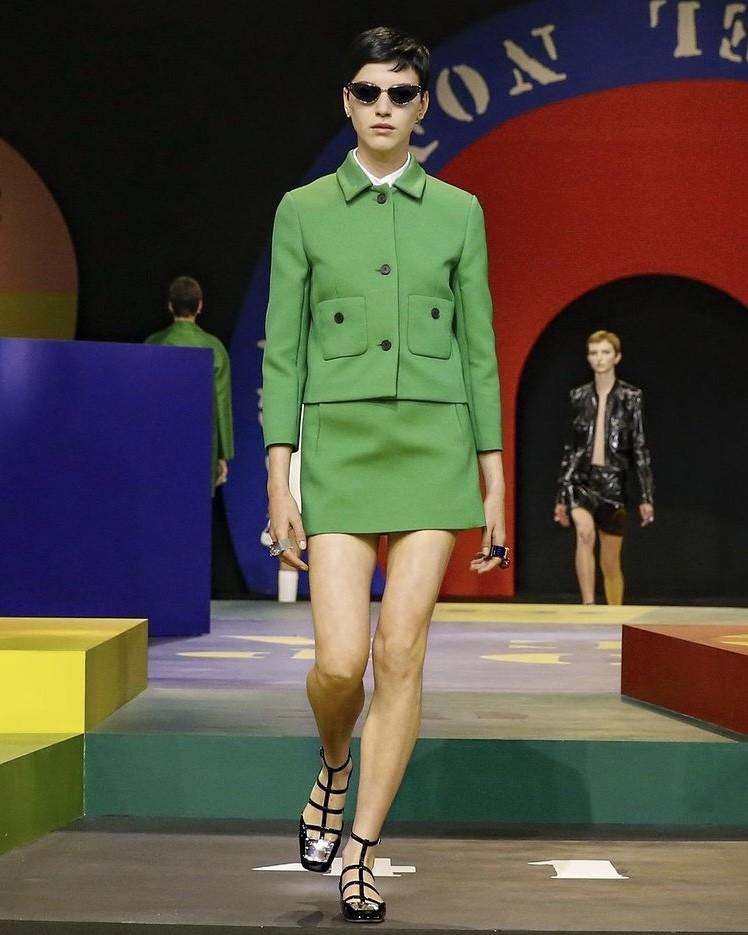 Minissaia em Paris: Dior (Foto: Divulgação )