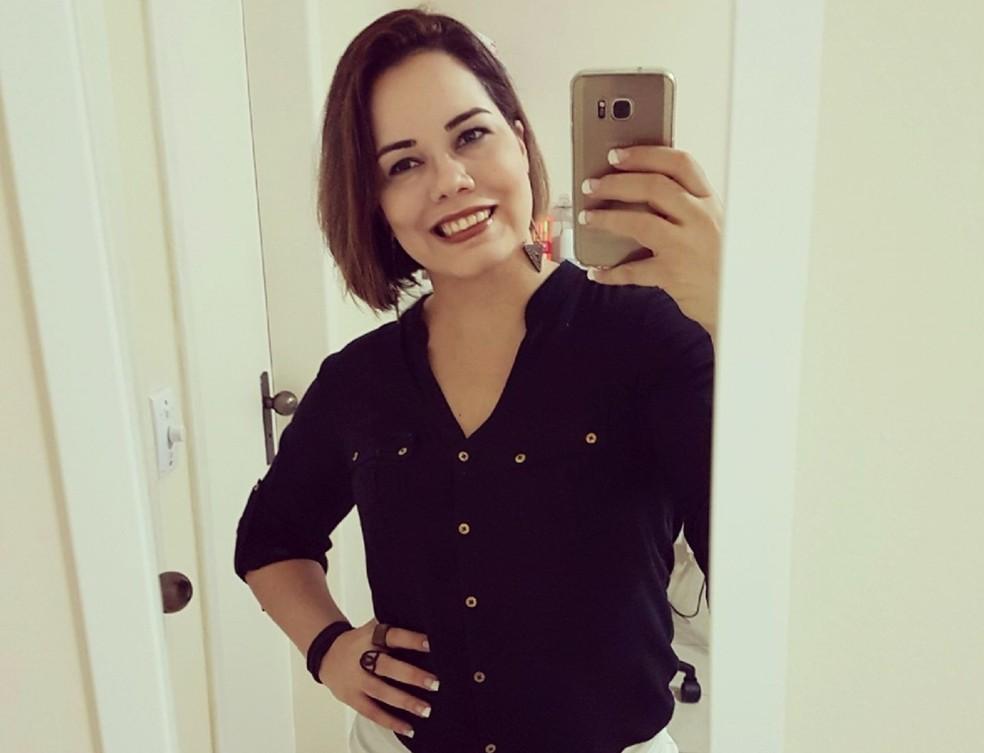 Lia Maria Abreu de Souza, 1ª sargento da Aeronáutica, estava no Globocop (Foto: Reprodução/Facebook)