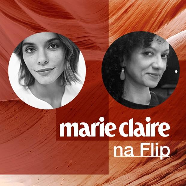 A diretora de redação Laura Ancona e a editora executiva Adriana Ferreira Silva participam de mesas da Flip (Foto: Arte: Pamela Moreno)