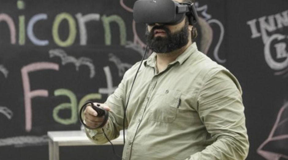 15 startups dividem 110 posições de trabalho, entre elas, a MedRoom (foto), utiliza tecnologia de realidade virtual e estratégias de gamificação para o treinamento de estudantes  (Foto: Divulgação)