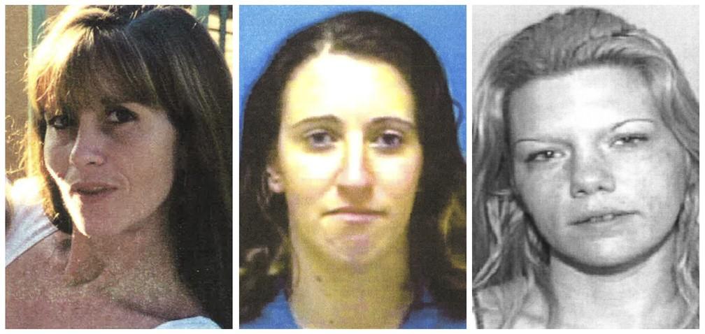 Kimberly Dietz-Livesey, Sia Demas e Jessica Good: as 3 vítimas do serial killer brasileiro Roberto Wagner Fernandes em Miami, nos Estados Unidos — Foto: Gabinete do Xerife do Condado de Broward via AP