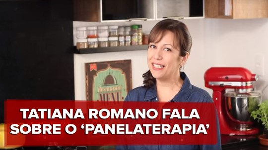 Youtuber Tati Romano transforma canal 'Panelaterapia' em livros e produtora de vídeos com receitas simples
