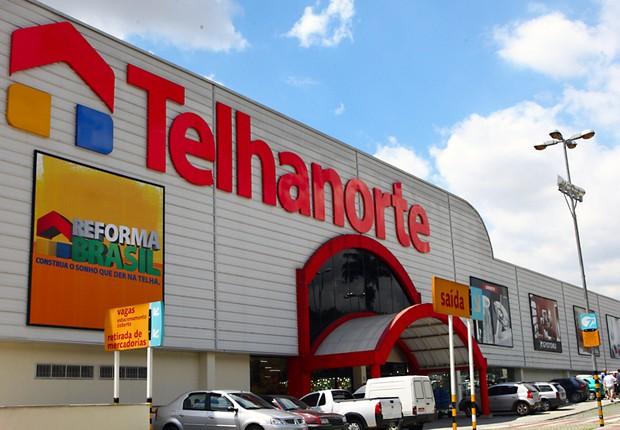Loja da rede Telhanorte (Foto: Reprodução/Facebook)