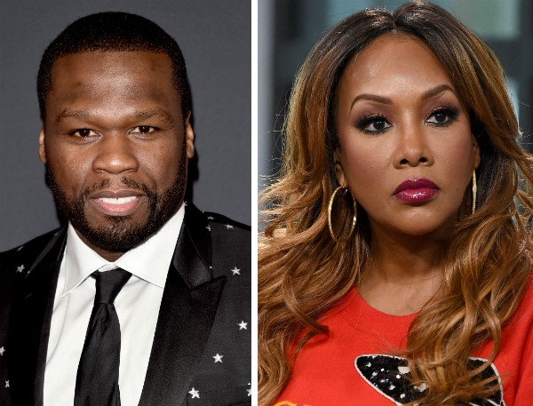 O rapper 50 Cent e a atriz Vivia A. Fox (Foto: Getty Images)