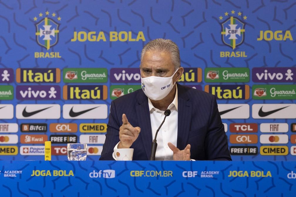 Tite faz apelo a presidente da CBF e Juninho: Pode armar amistoso com qualquer seleção europeia