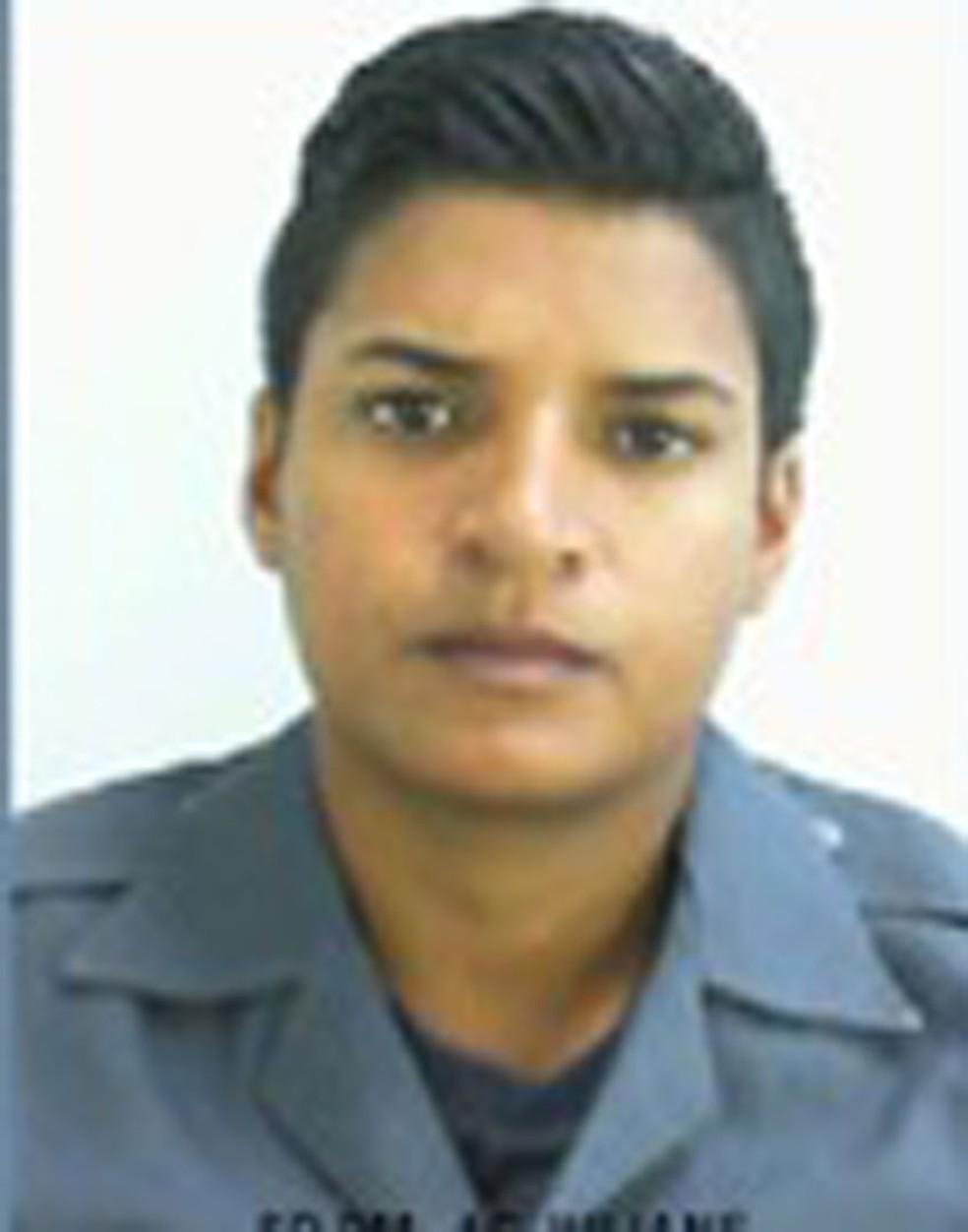 Policial Militar Juliane dos Santos, desaparecida em Paraisópolis (Foto: Reprodução/PM)
