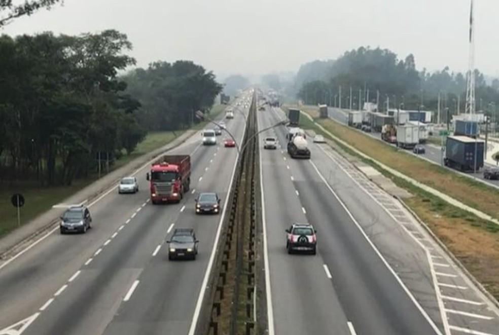 Dutra tem 420 km e corta (Foto: Henrique Pedreiras/ TV Vanguarda)