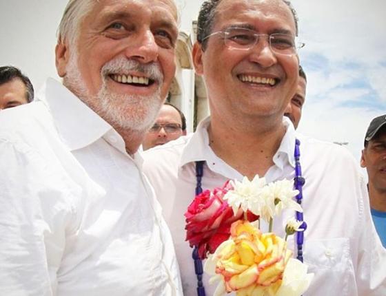 Jacques Wagner e Rui Costa (Foto: Reprodução/Instagram)