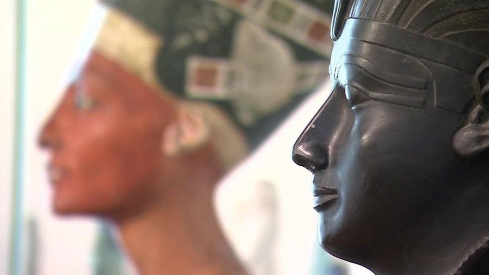 Hieróglifos em tumbas contam as histórias dos ricos e poderosos; nova técnica revela mais sobre a vida cotidiana (Foto: BBC)