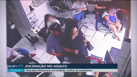 Casal é preso após aplicar 'golpe do assalto' em salão de beleza