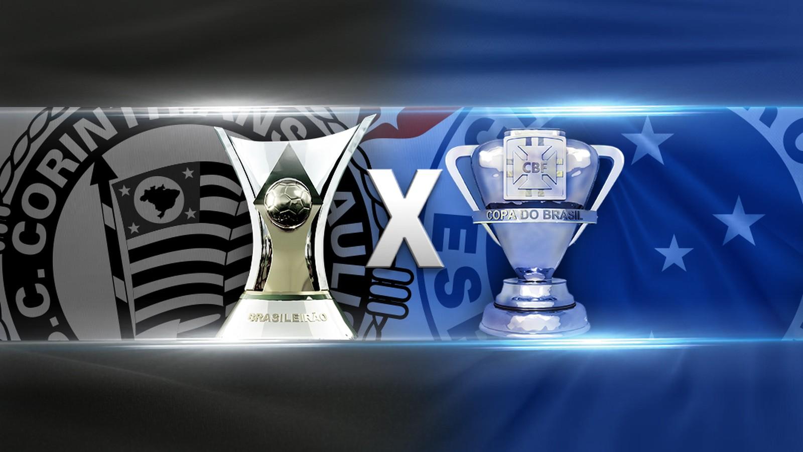 Corinthians E Cruzeiro Disputam Hegemonia De Taças