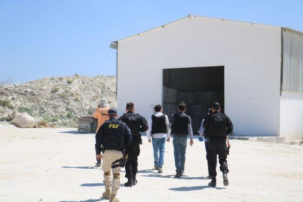 MPT identifica infrações durante inspeção em 28 mineradoras de gipsita do polo gesseiro de PE   - Notícias - Plantão Diário