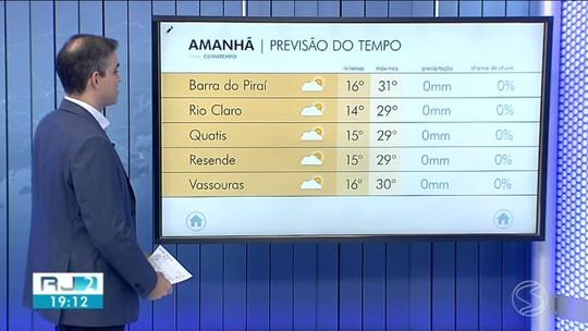Quinta-feira marca chegada de frente fria no Sul do Rio