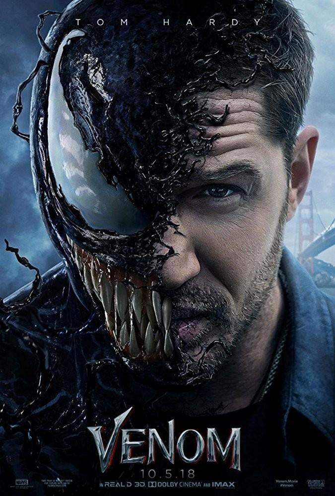 Pôster de Venom, que estreia em outubro no Brasil (Foto: Divulgação)