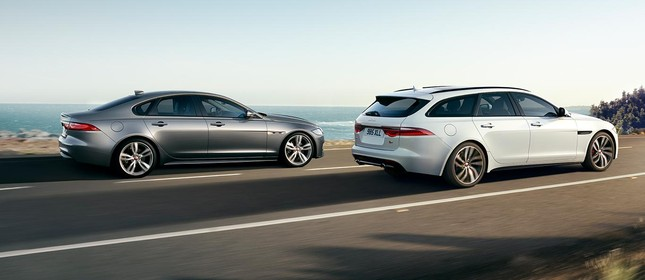Linha Jaguar XF, sedan e Sportbrake