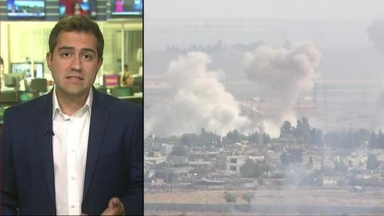 Forças da Síria chegam a território controlado pelos curdos em apoio contra a Turquia